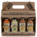 Walizeczka sosów Mama Africa's 4x125 ml