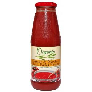"""Ekologiczny przecier pomidorowy """"passata"""" 690g"""