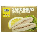 Sardynki portugalskie - filety 105g puszka