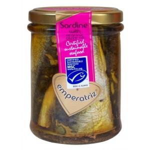 Sardynki w ekologicznej oliwie z oliwek 190g